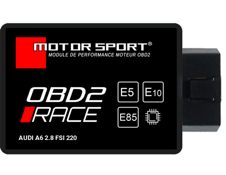 Boitier additionnel Audi A6 2.8 FSI 220 - OBD2 RACE